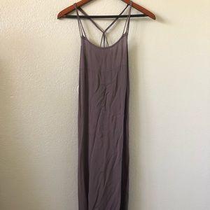 Acacia swimwear Moorea dress in fig size p